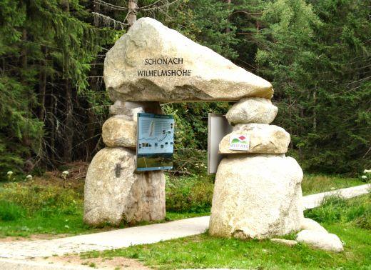 Portal bei Schonach an der Wilhelmshöhe. - Copyright: © STG