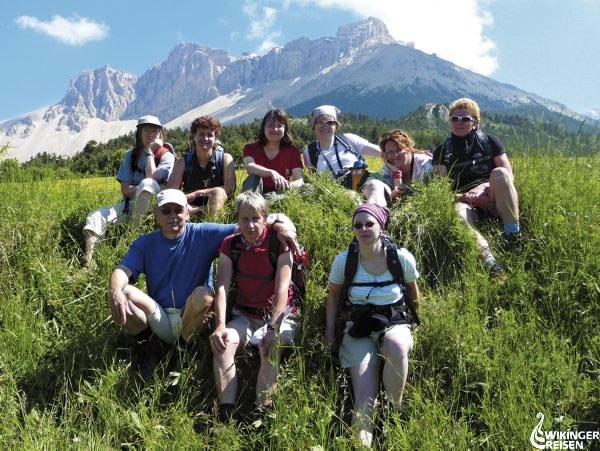 Auf dem Weg nach Sauvas Frankreich Foto: Wikinger Reisen