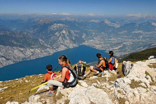 Aussicht auf den See - Bild: Trentino