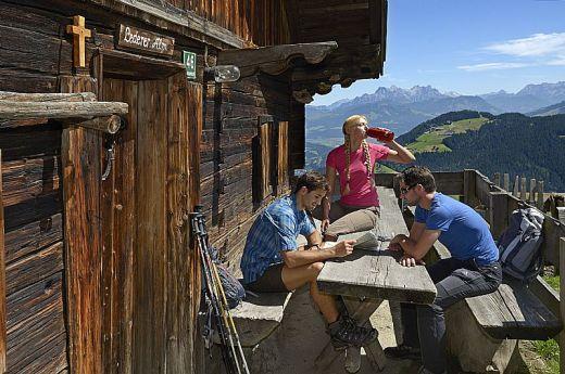 Rast auf der Hütte - Fotograf: Norbert Eisele-Hein - Fotoarchiv:  TVB Wilder Kaiser