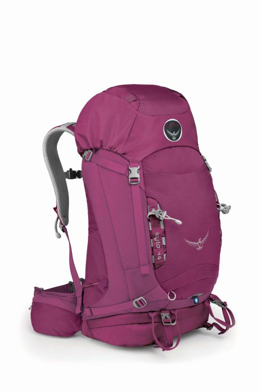 Osprey Kyte 46 Rose-Red - Bild: Osprey