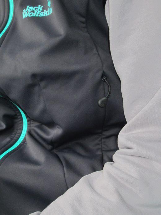 Seitentasche an der Jack Wolksin Symphony Vest