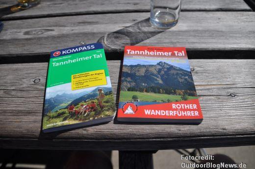 Tannheimer Tal Wanderführer von Kompass und dem Bergverlag Rother