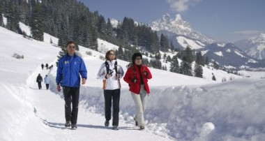 Gemütlicher, aber aussichtsreicher Spaziergang  – Wintertour von Zöblen nach Tannheim