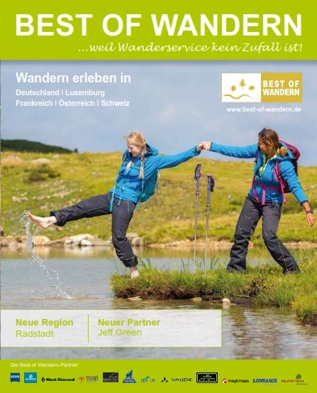 Cover des neuen Best of Wandern Magazin - Fotocredit: Best of Wandern