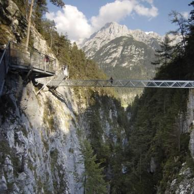 Wandertipp in der Alpenwelt Karwendel  – Geisterklamm & Ederkanzel