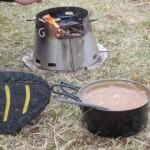 Verfeinerte Suppe in Schottland