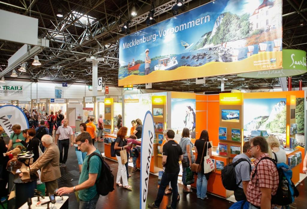 Die TourNatur ist Deutschlands einzige Publikumsmesse für Wandern und Trekking. Foto: Constanze Tillmann / Fotocredits: Messe Duesseldorf / ctillmann