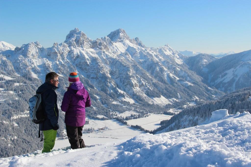 Winterwandern im Tannheimer Tal - Foto: Tannheimer Tal