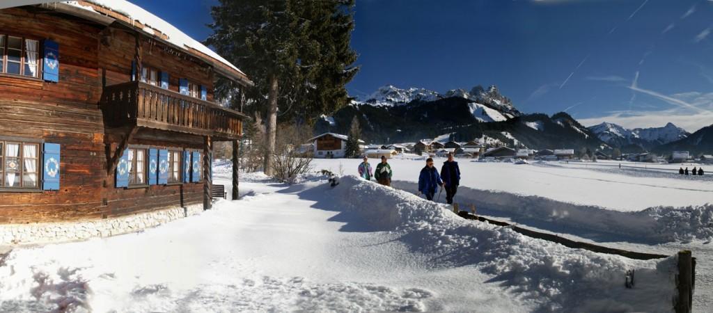 Winterwandern im Tannheimer Tal _ Foto: Tannheimer Tal