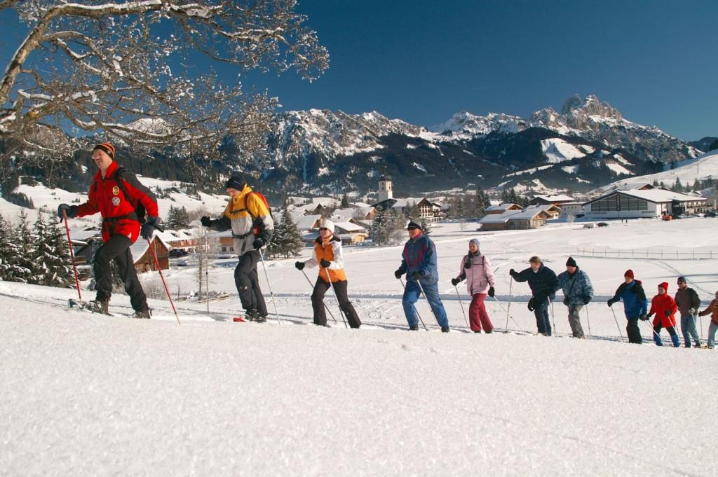 Tannheimer Tal, Schneeschuhwandern - Foto: Tannheimer Tal
