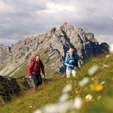 Aussichtsreiche Gipfeltouren im Tannheimer Tal