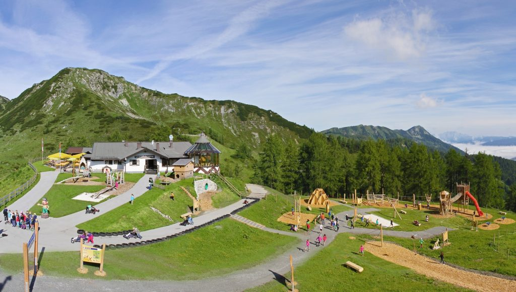 Zauchensee, Gamskogel »Abenteuerspielplatz« - Foto: Zauchensee Liftgesellschaft